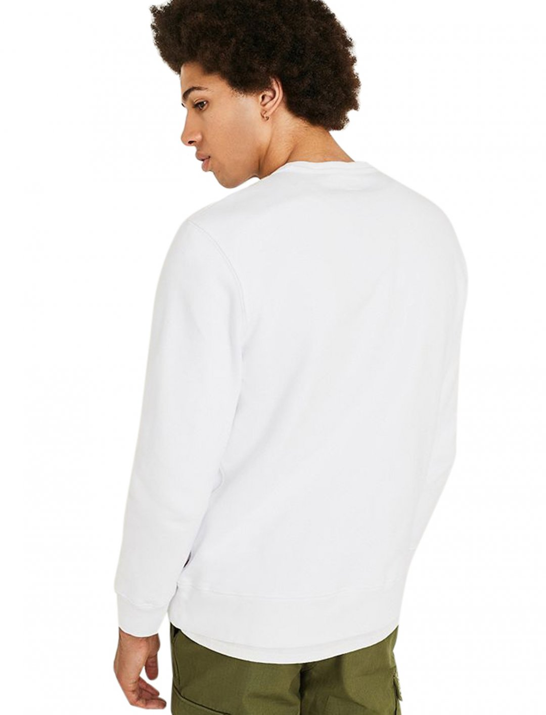 "Sweatshirt In White {""id"":5,""product_section_id"":1,""name"":""Clothing"",""order"":5} Levi's"