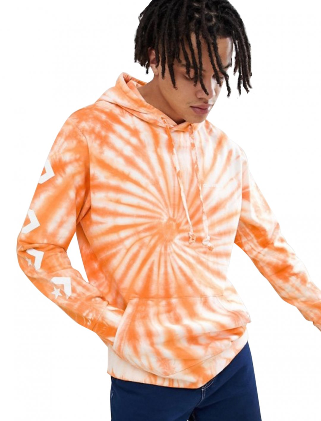"Tie Dye Pullover Hoodie {""id"":5,""product_section_id"":1,""name"":""Clothing"",""order"":5} Converse"