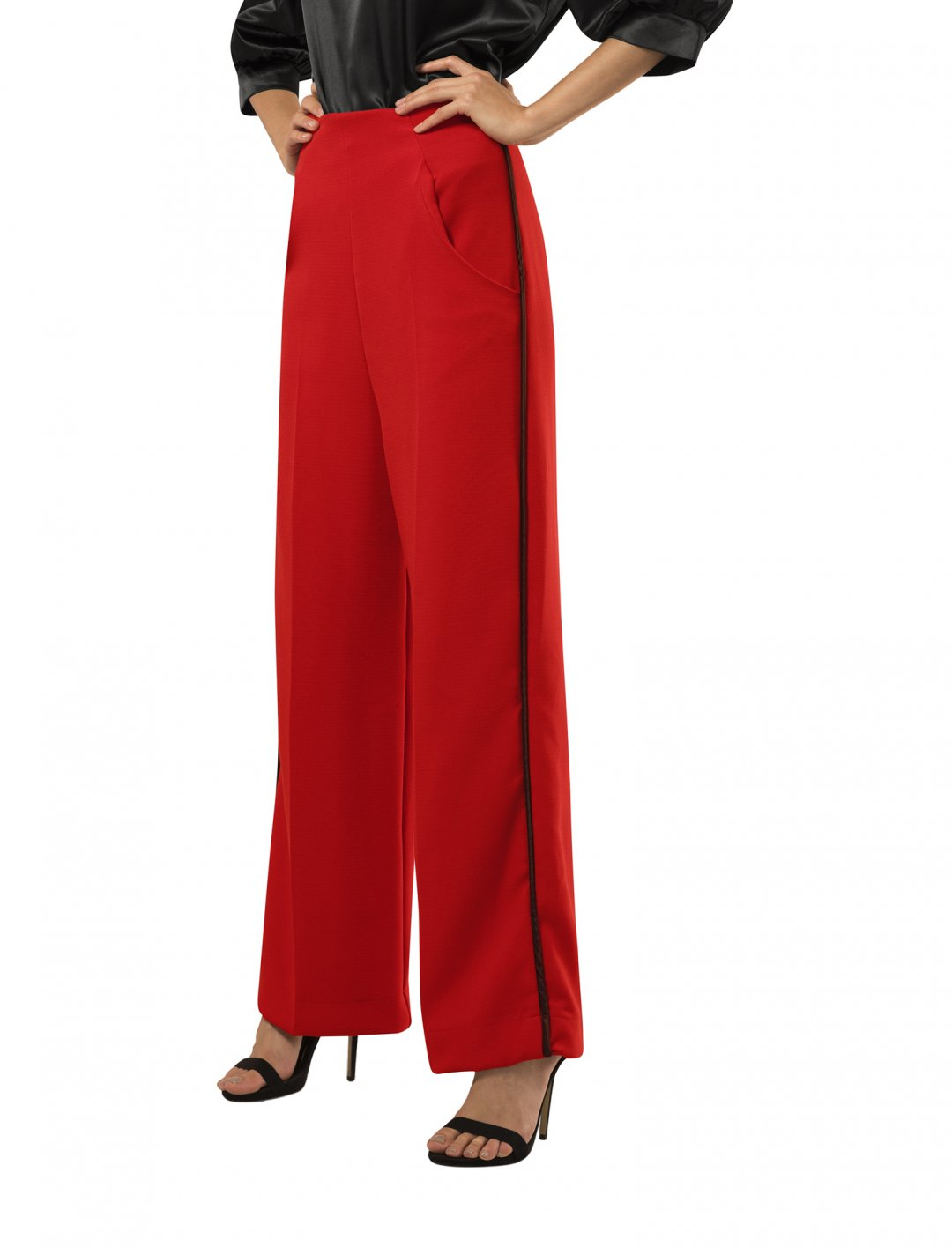 "Trousers In Red {""id"":5,""product_section_id"":1,""name"":""Clothing"",""order"":5} Closet London"