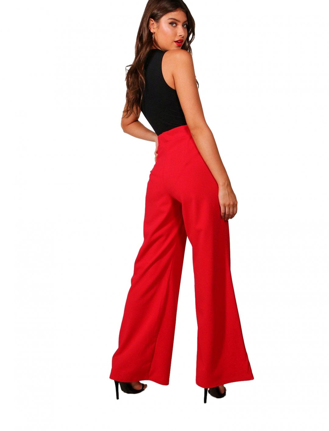 "Wide Leg Trouser {""id"":5,""product_section_id"":1,""name"":""Clothing"",""order"":5} boohoo"