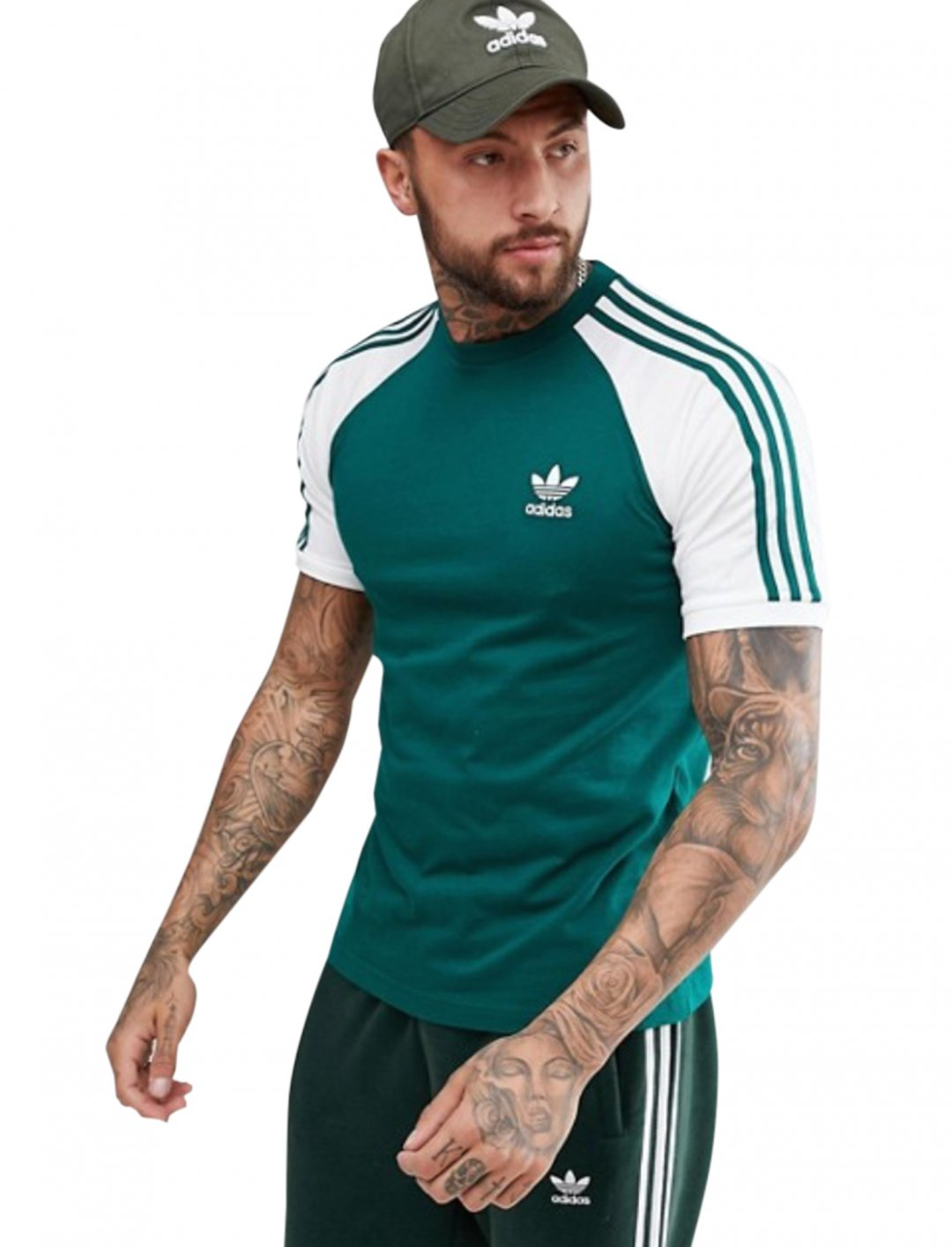"Adidas Originals Raglan T-Shirt {""id"":5,""product_section_id"":1,""name"":""Clothing"",""order"":5} Adidas"