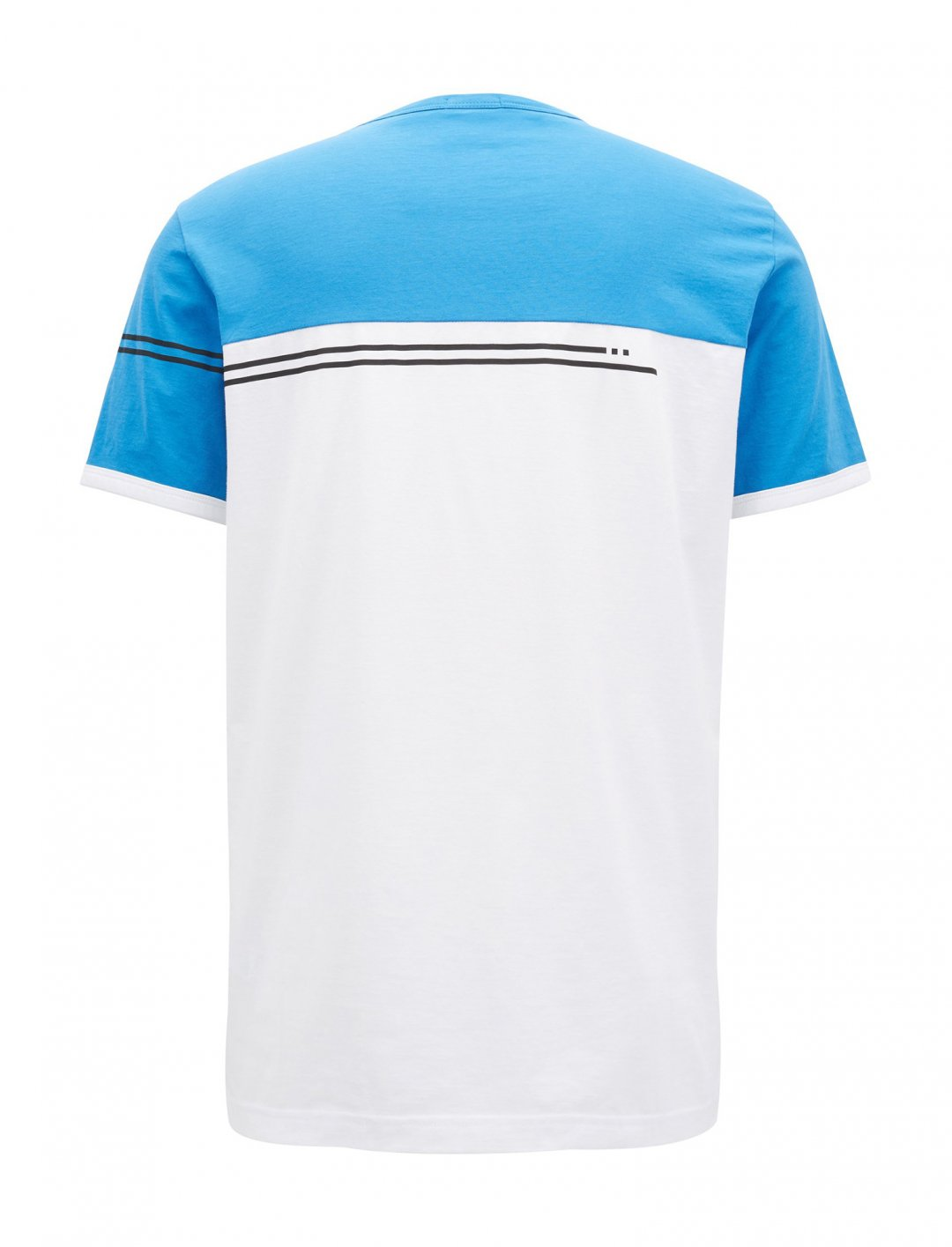 "Colour-block T-Shirt {""id"":5,""product_section_id"":1,""name"":""Clothing"",""order"":5} Hugo Boss"
