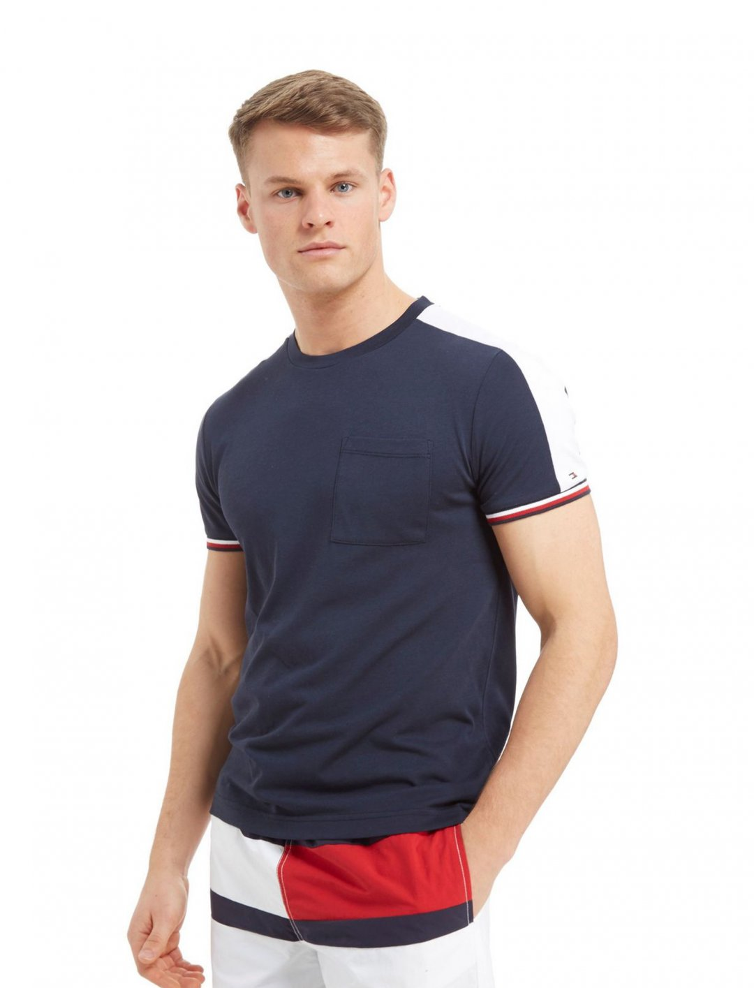 "Side Panel T-Shirt {""id"":5,""product_section_id"":1,""name"":""Clothing"",""order"":5} Tommy Hilfiger"