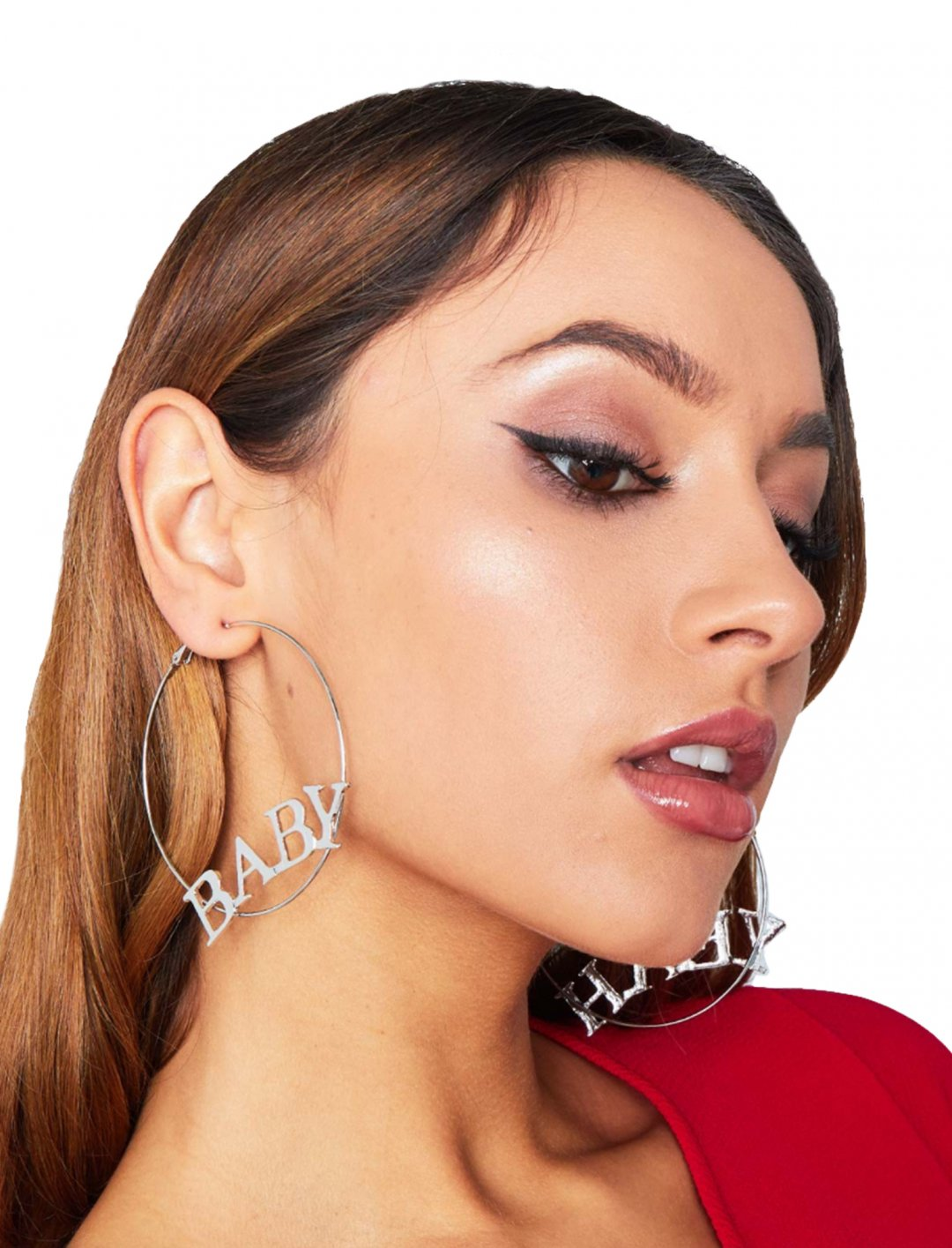 "Baby Hoop Earrings {""id"":10,""product_section_id"":1,""name"":""Jewellery"",""order"":10} Missy Empire"