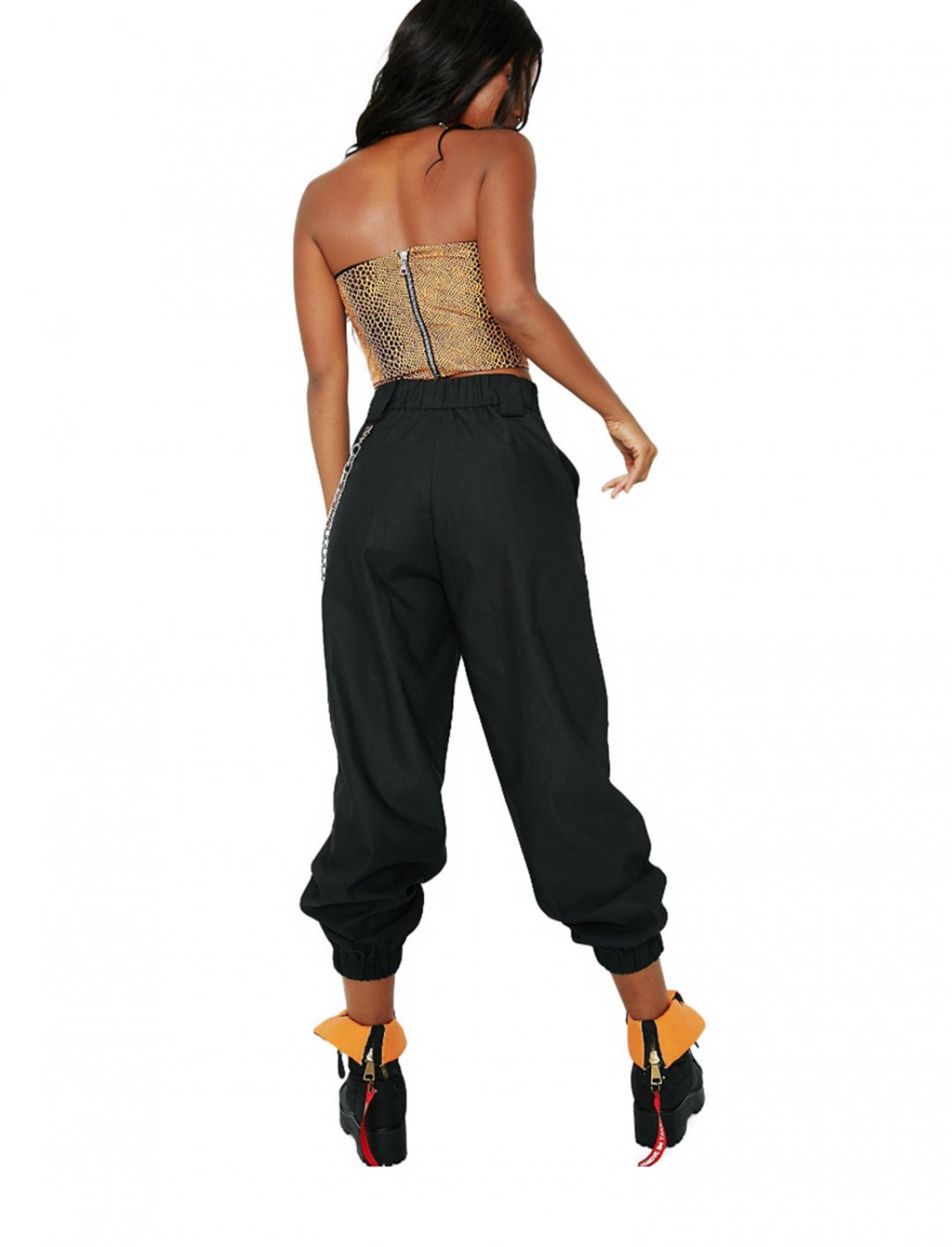 "Black Cobain Pants {""id"":5,""product_section_id"":1,""name"":""Clothing"",""order"":5} I.AM.GIA"