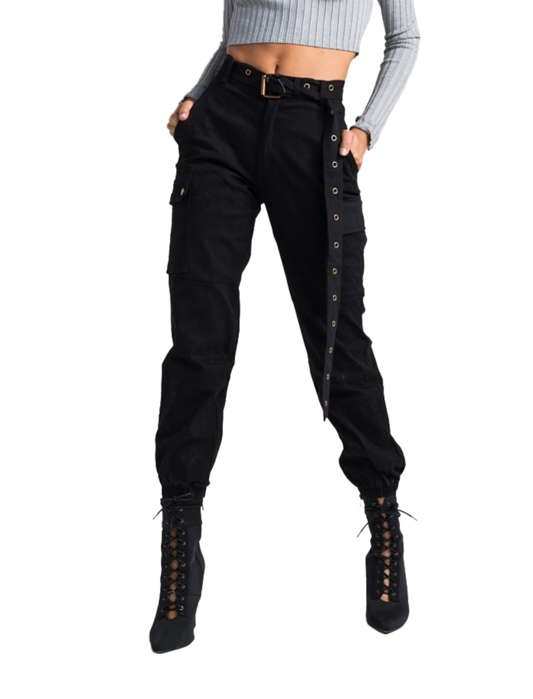 "Black Combat Pants {""id"":5,""product_section_id"":1,""name"":""Clothing"",""order"":5} Akira"