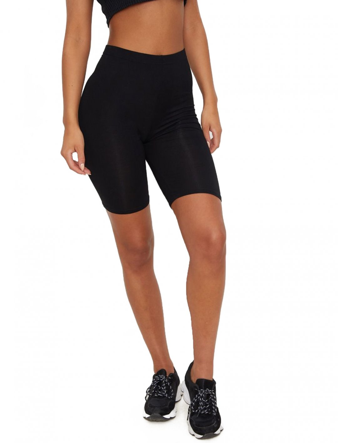 "Black Cycle Shorts {""id"":5,""product_section_id"":1,""name"":""Clothing"",""order"":5} PLT"