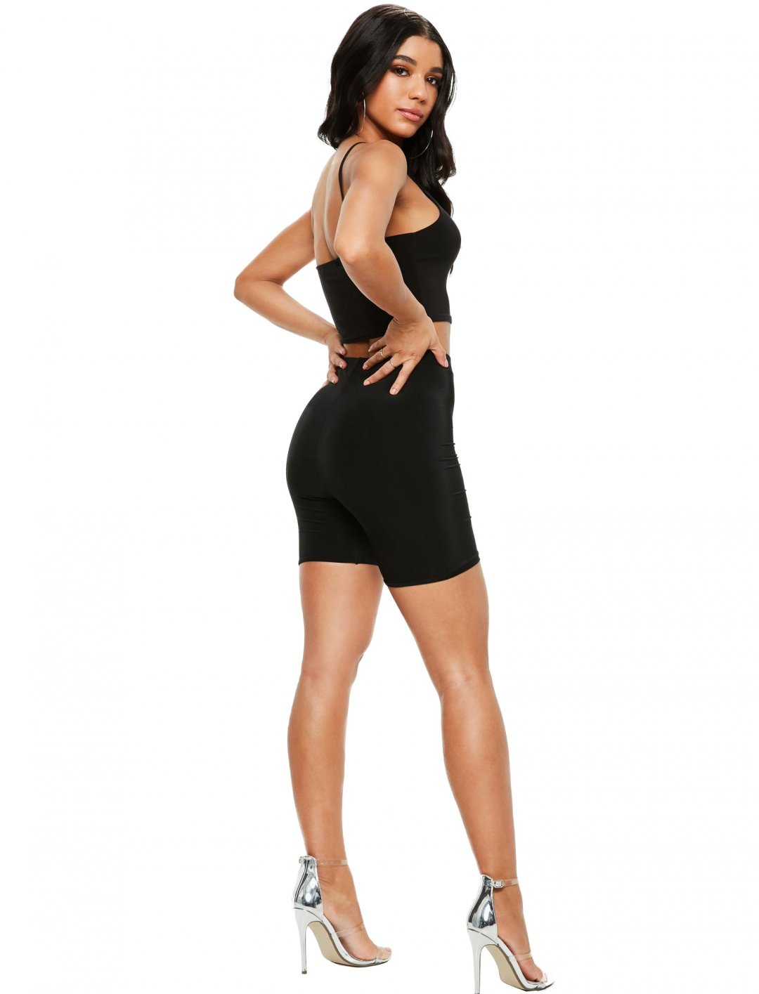 "Black Cycling Shorts {""id"":5,""product_section_id"":1,""name"":""Clothing"",""order"":5} Missguided"
