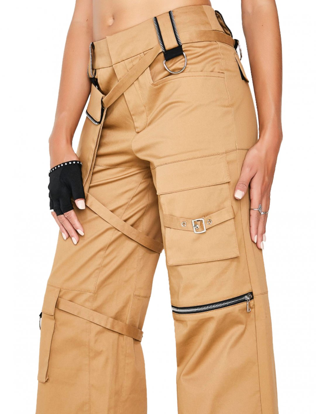 "Brown Harper Pants {""id"":5,""product_section_id"":1,""name"":""Clothing"",""order"":5} I.AM.GIA"