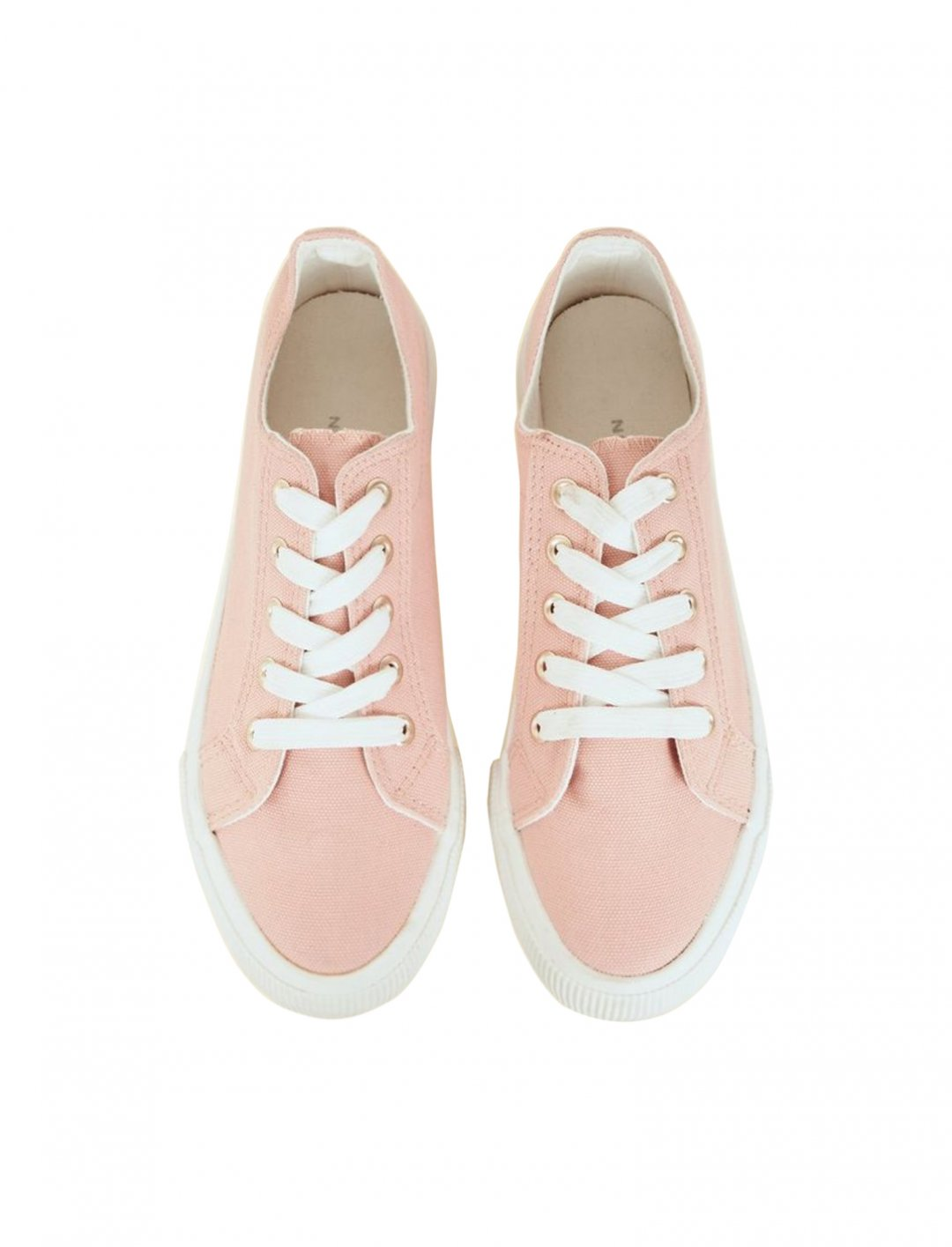 "Canvas Flatform Trainers {""id"":12,""product_section_id"":1,""name"":""Shoes"",""order"":12} New Look"