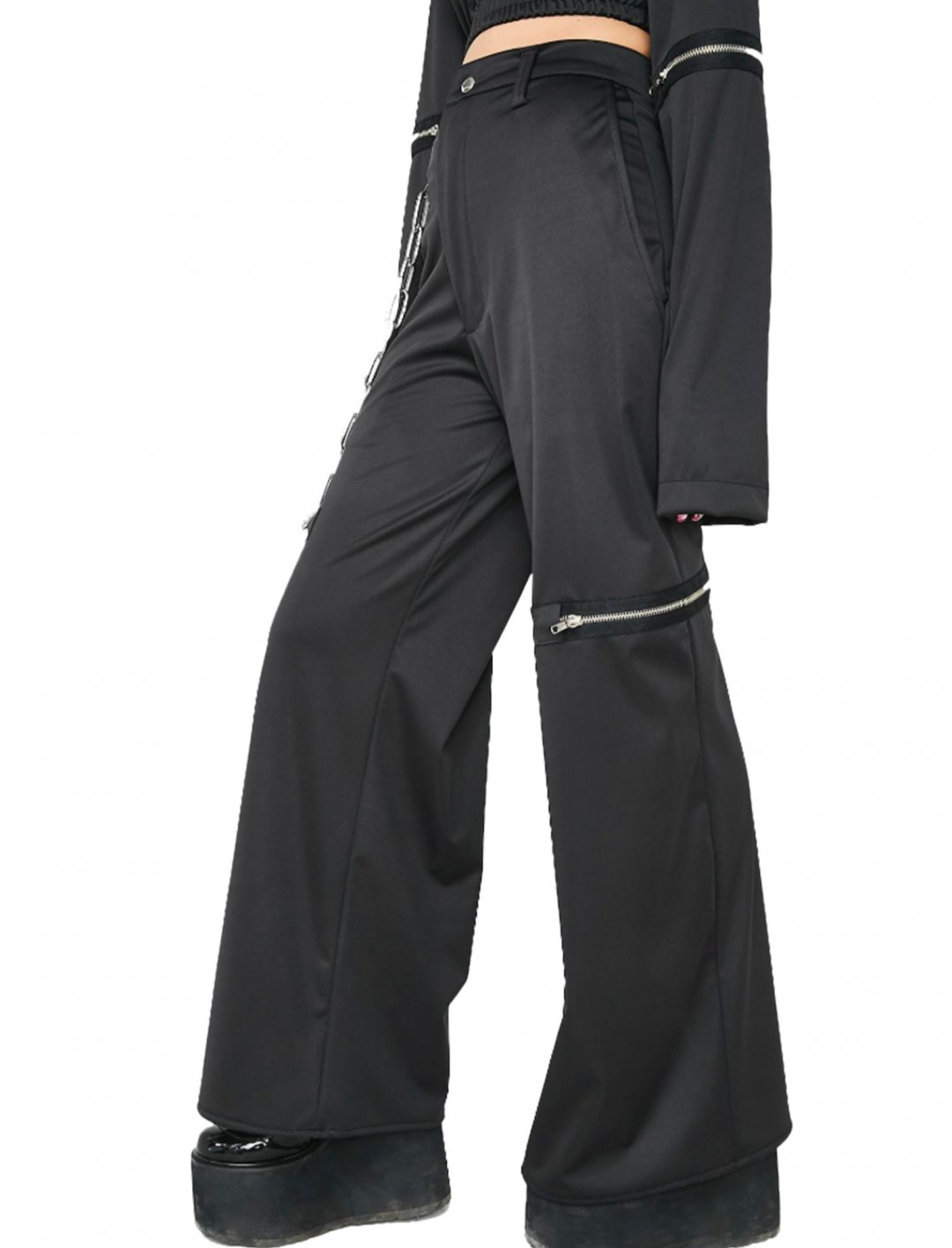 "Chainge Wide Leg Pants {""id"":5,""product_section_id"":1,""name"":""Clothing"",""order"":5} Esqape"
