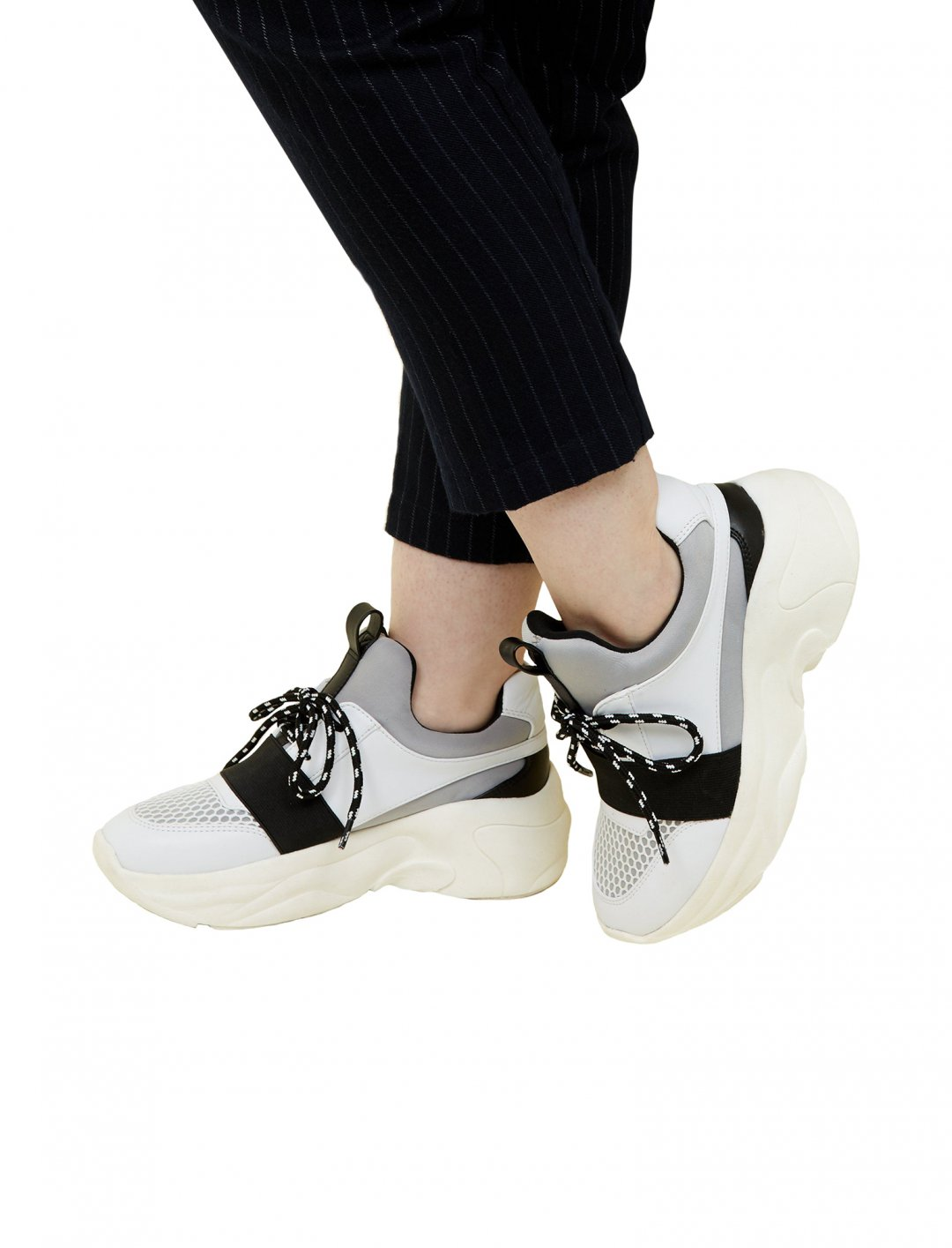 "Colour-Block Chunky Trainers {""id"":12,""product_section_id"":1,""name"":""Shoes"",""order"":12} New Look"