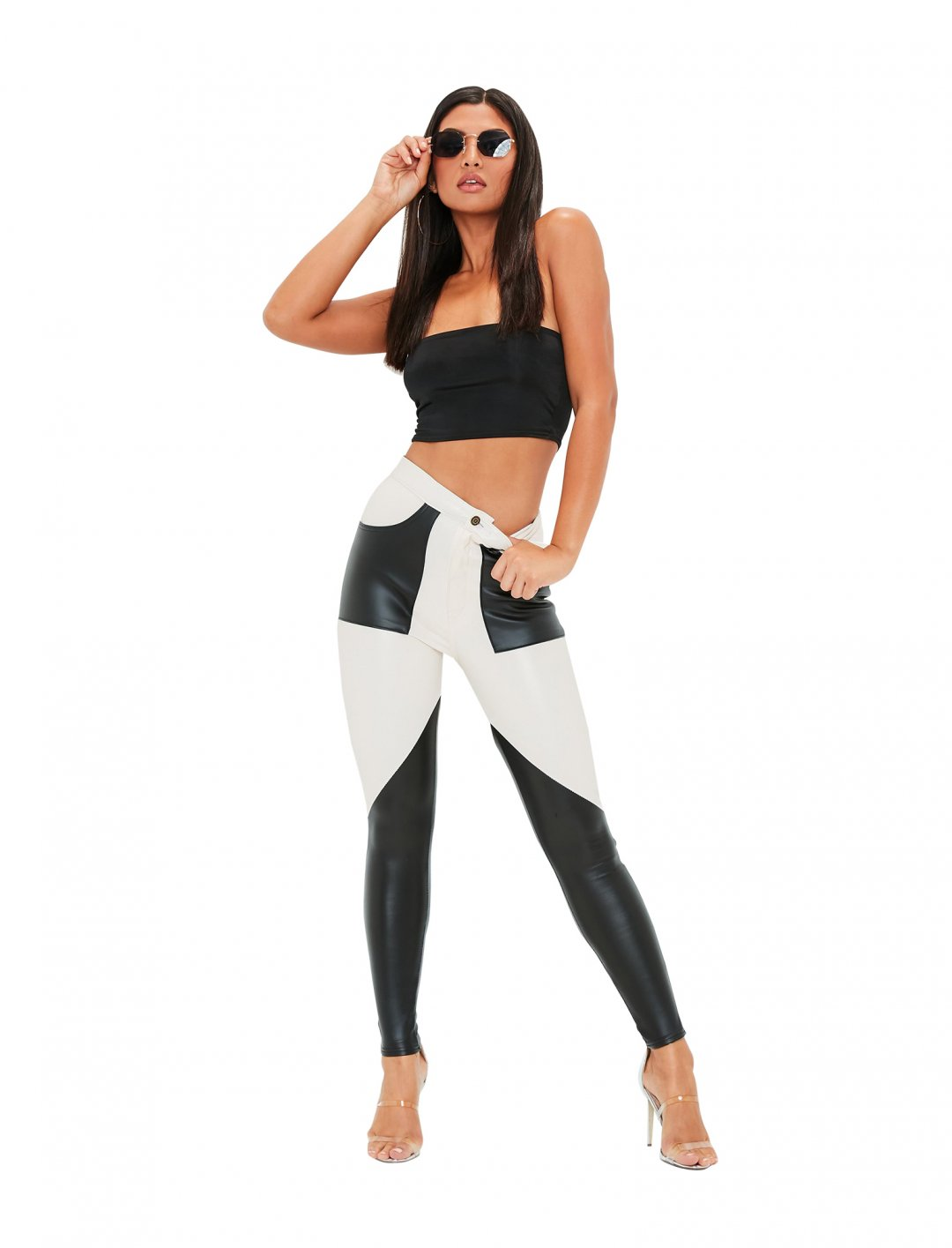 "Colour Block Trousers {""id"":5,""product_section_id"":1,""name"":""Clothing"",""order"":5} Missguided"