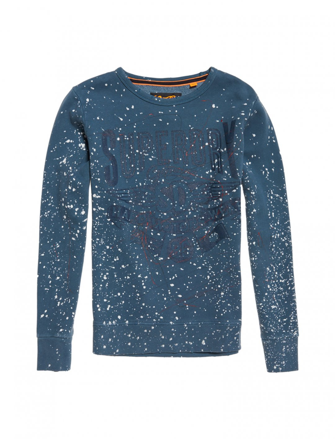 "Crew Neck Sweatshirt {""id"":5,""product_section_id"":1,""name"":""Clothing"",""order"":5} Superdry"