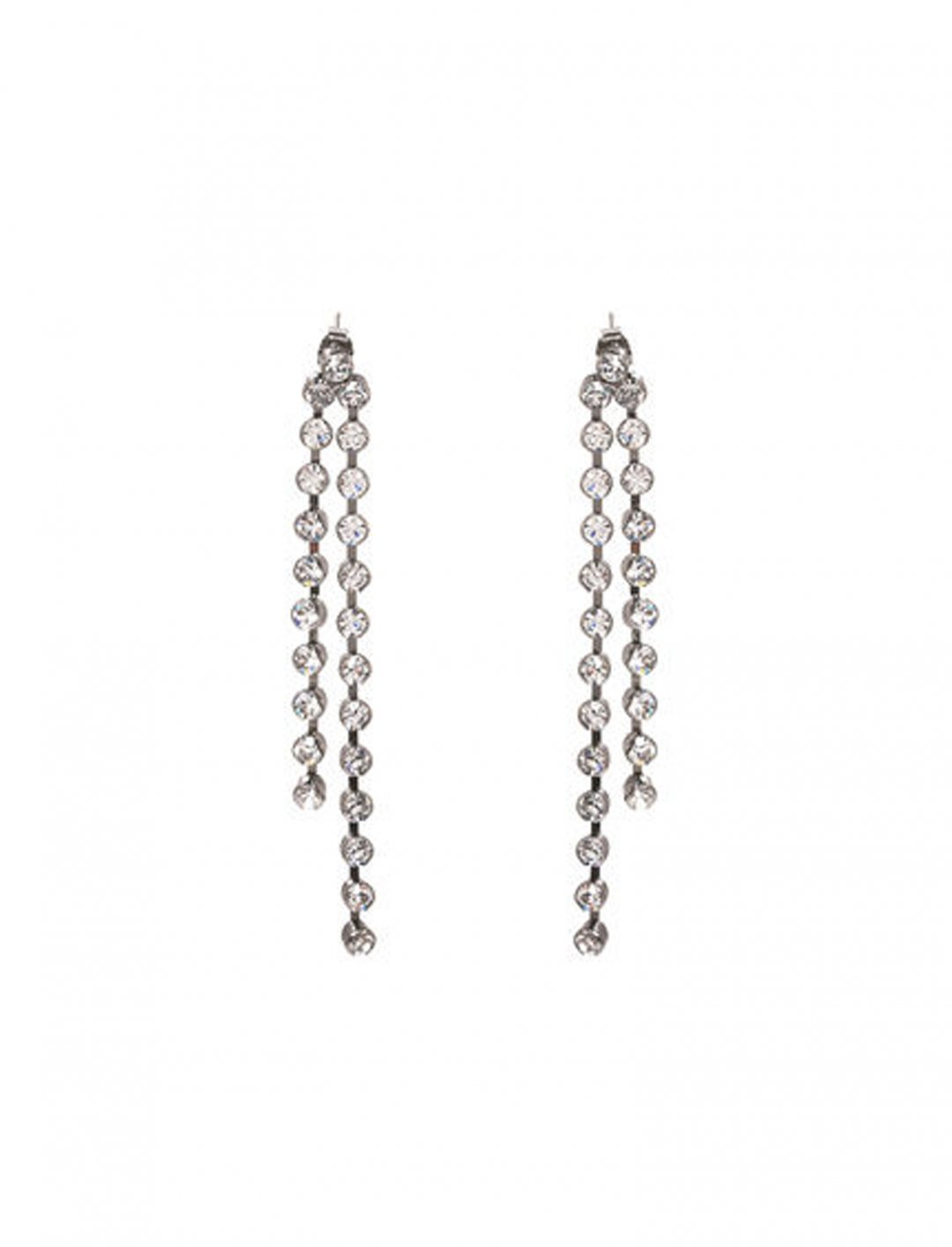 "Crystal Drops Earrings {""id"":5,""product_section_id"":1,""name"":""Clothing"",""order"":5} Dose Of Rose"