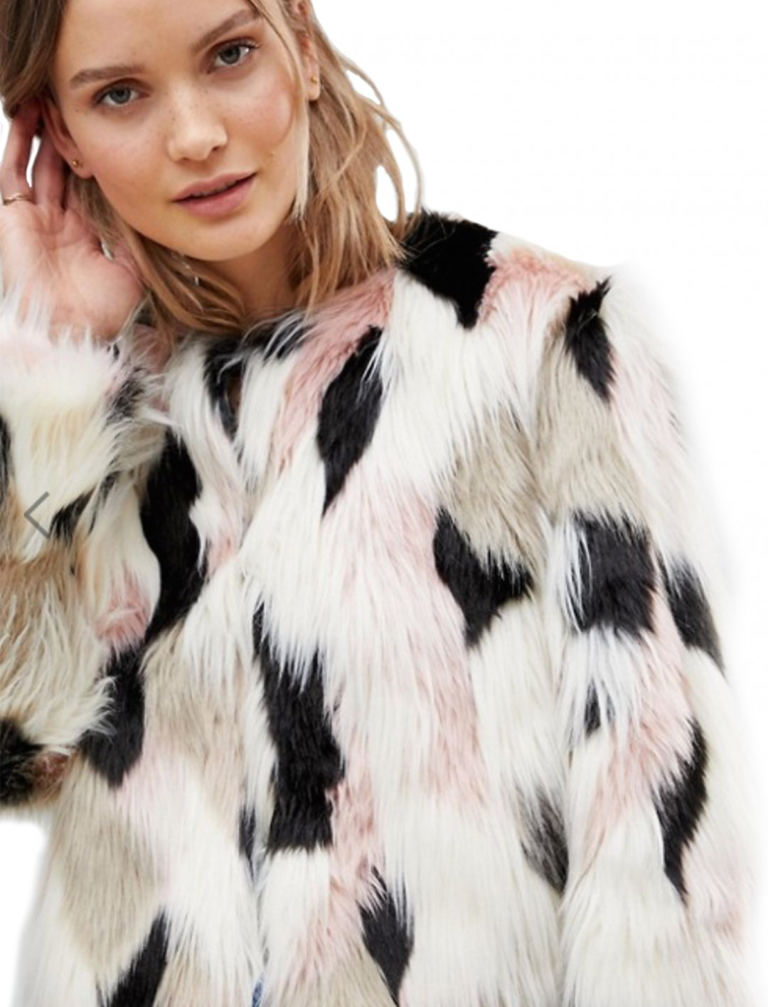"Faux Fur Jacket {""id"":5,""product_section_id"":1,""name"":""Clothing"",""order"":5} Lavand"