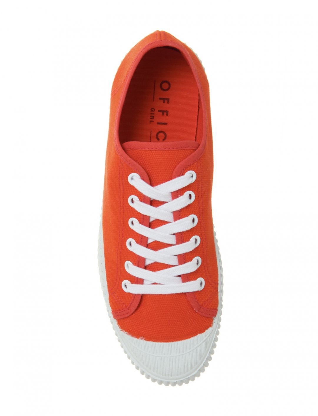 "Frangipane Canvas Trainers {""id"":12,""product_section_id"":1,""name"":""Shoes"",""order"":12} Office"