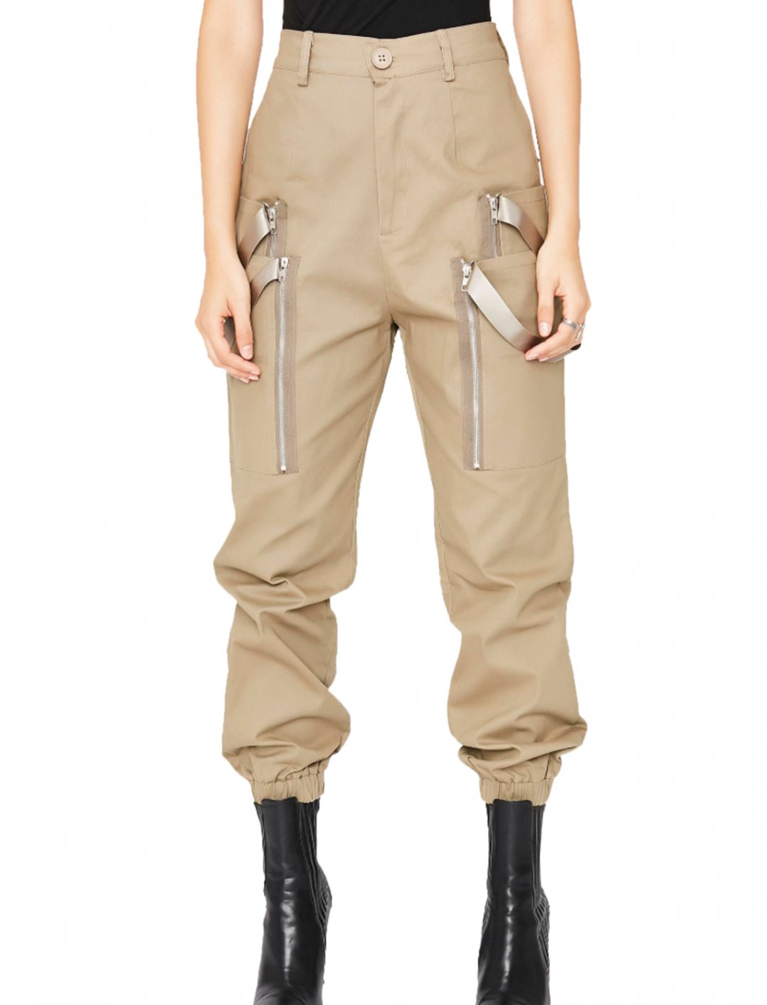 "High-Rise Cargo Pants {""id"":5,""product_section_id"":1,""name"":""Clothing"",""order"":5} Dolls Kill"