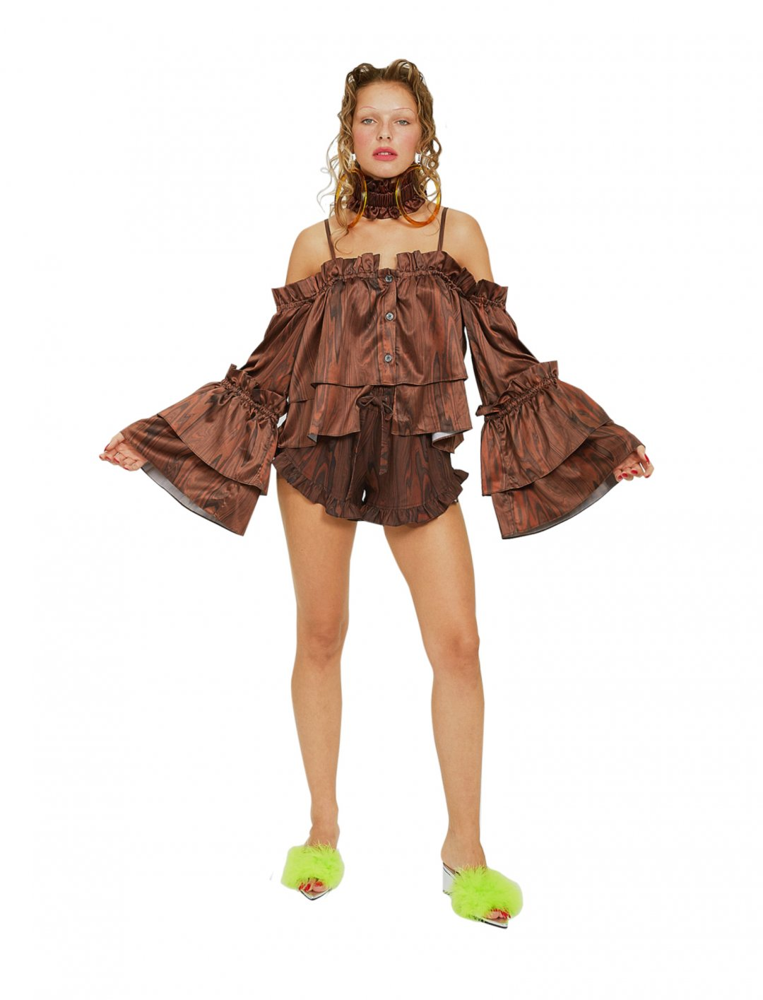 "Imani's Brown Shorts {""id"":5,""product_section_id"":1,""name"":""Clothing"",""order"":5} Irene Sj Yu"