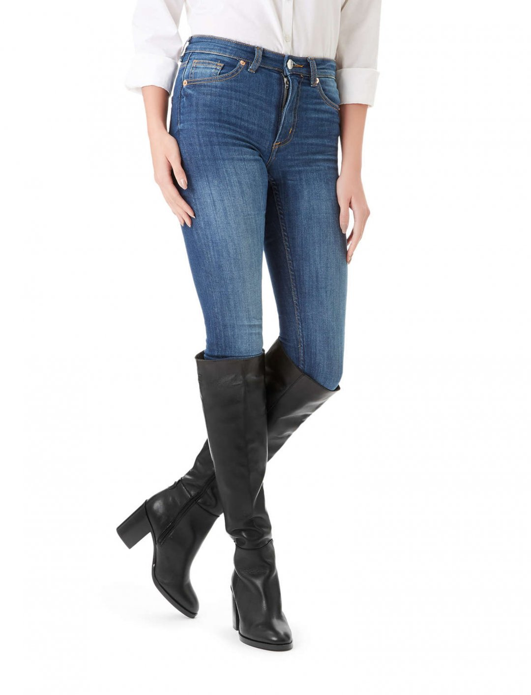 "Imani's Mid Heel Knee Boots {""id"":12,""product_section_id"":1,""name"":""Shoes"",""order"":12} Kurt Geiger"