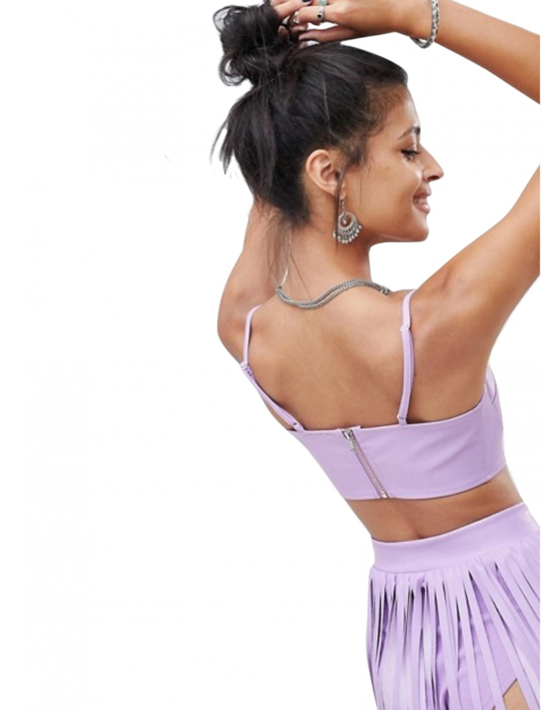 "Lilac Bralette Top {""id"":5,""product_section_id"":1,""name"":""Clothing"",""order"":5} Elsie & Fred"