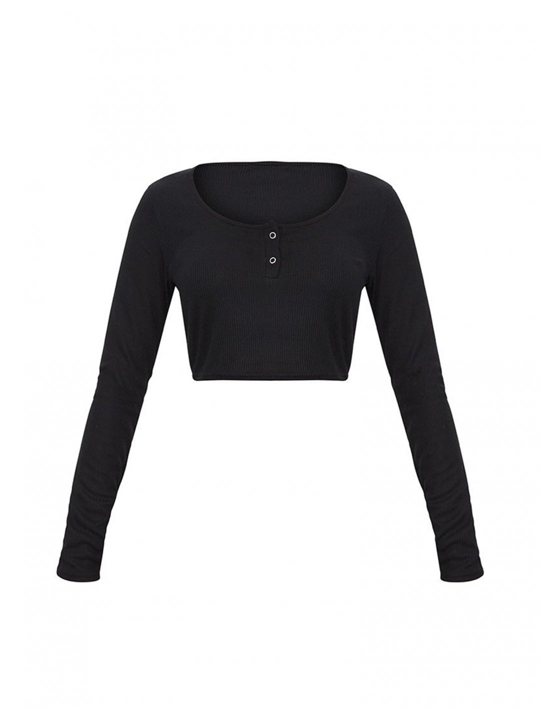 "Long Sleeve Crop Top {""id"":5,""product_section_id"":1,""name"":""Clothing"",""order"":5} PLT"