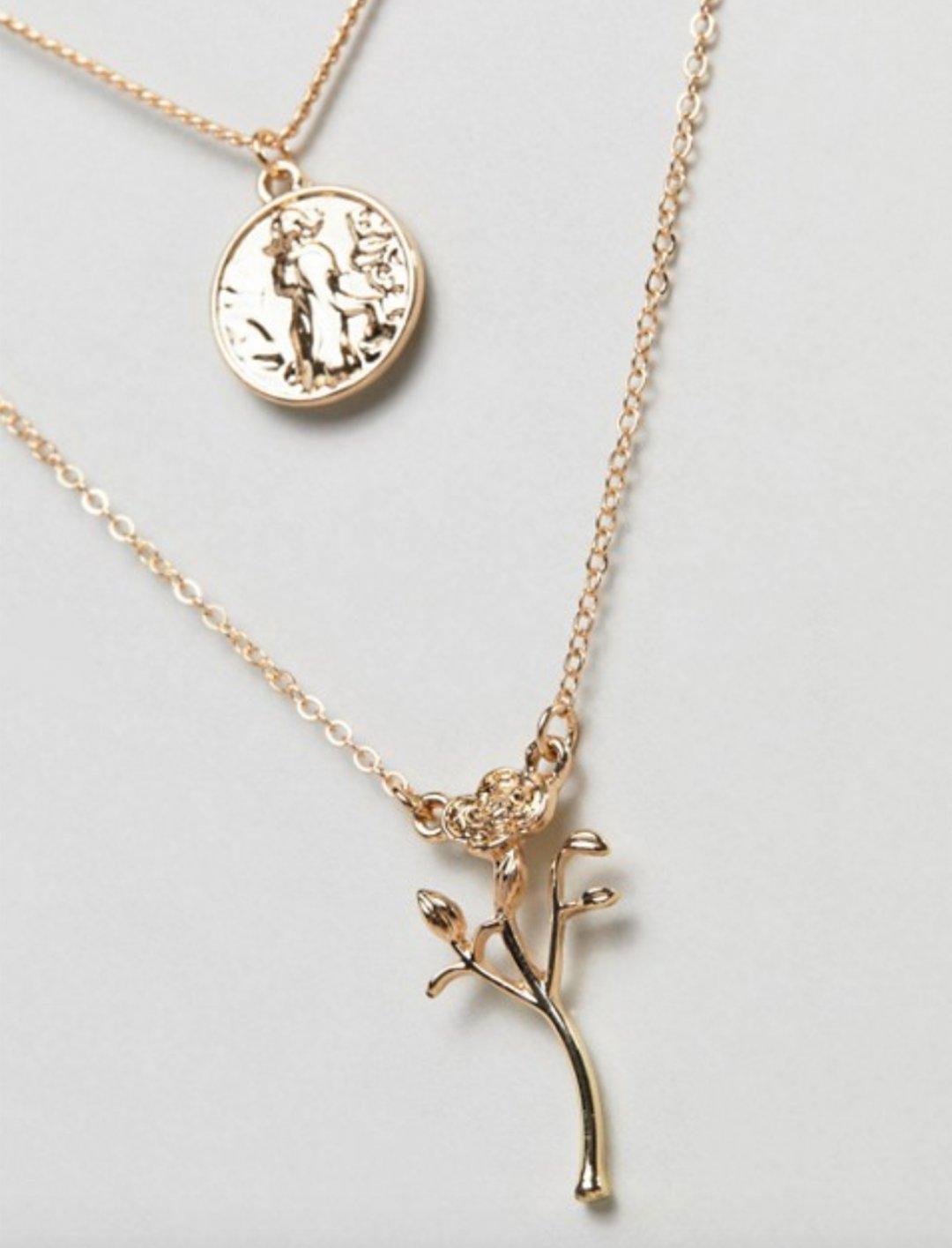 "Pendant Multirow Necklace {""id"":5,""product_section_id"":1,""name"":""Clothing"",""order"":5} Asos"