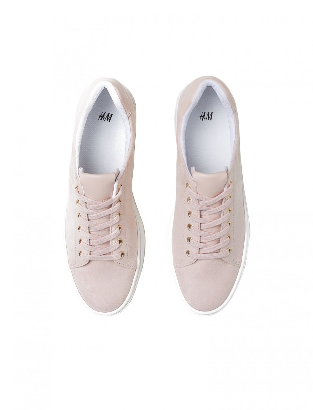"Powder Pink Trainers {""id"":12,""product_section_id"":1,""name"":""Shoes"",""order"":12} H&M"