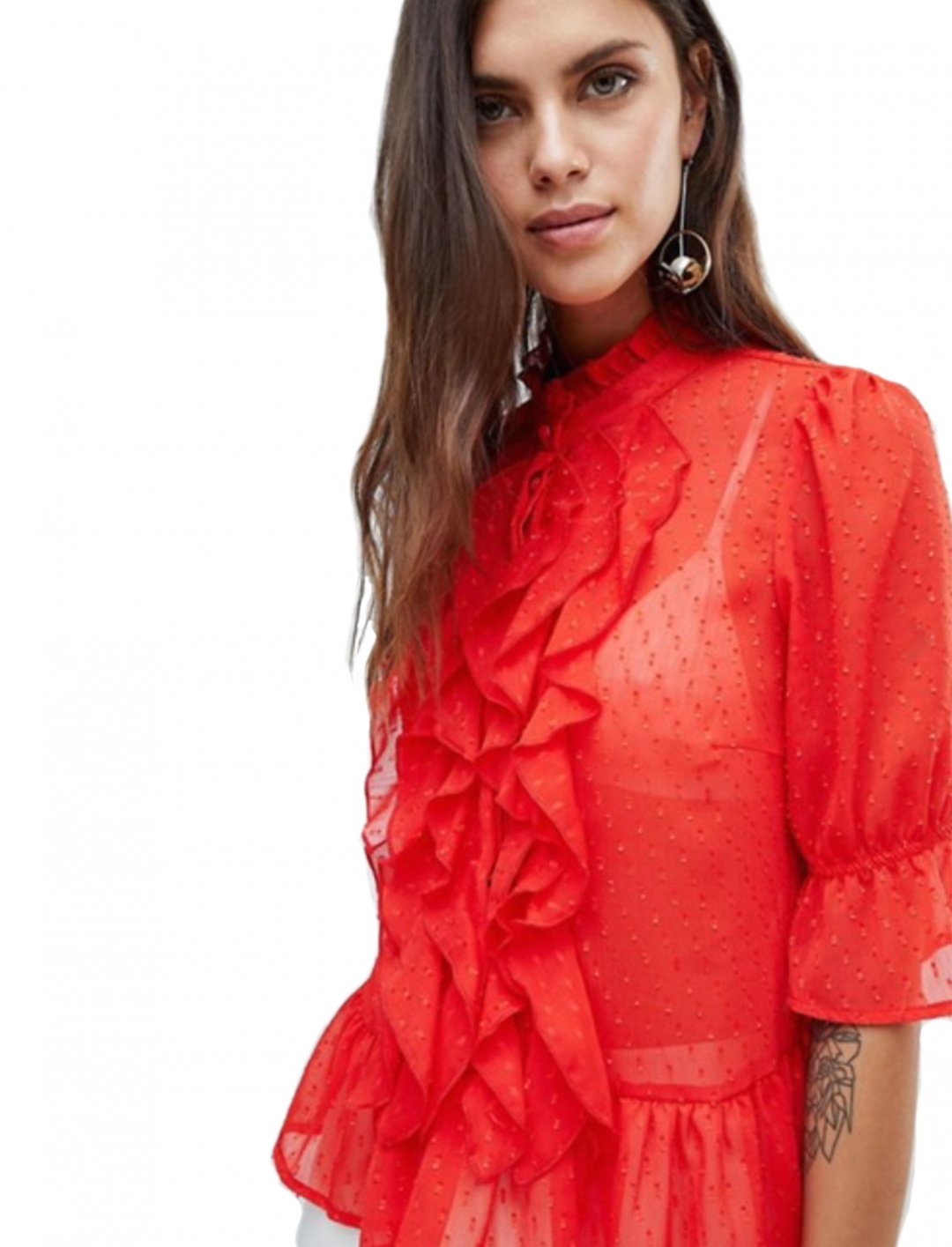"Red Blouse {""id"":5,""product_section_id"":1,""name"":""Clothing"",""order"":5} Y.A.S"