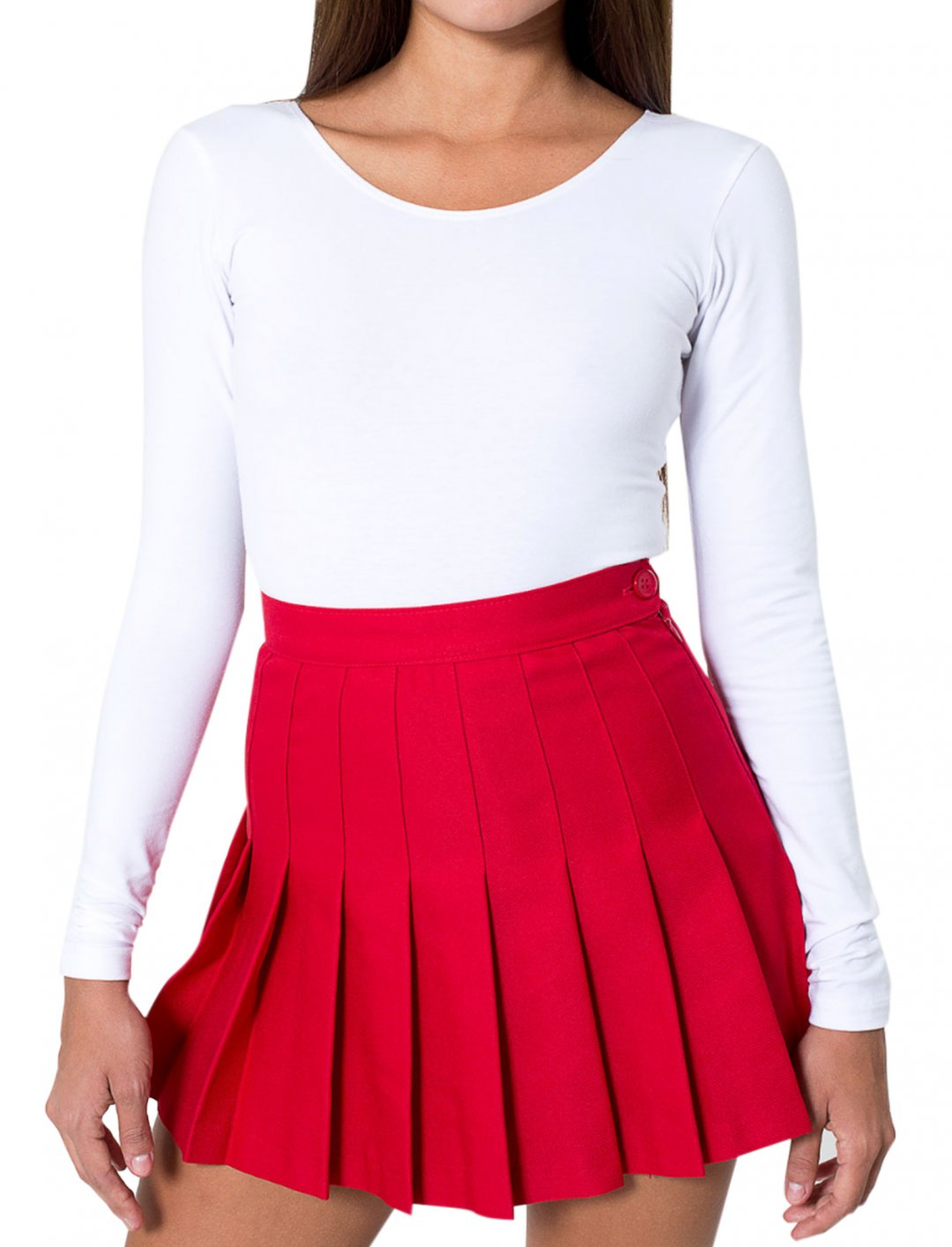 "Red Tennis Skirt {""id"":5,""product_section_id"":1,""name"":""Clothing"",""order"":5} American Apparel"