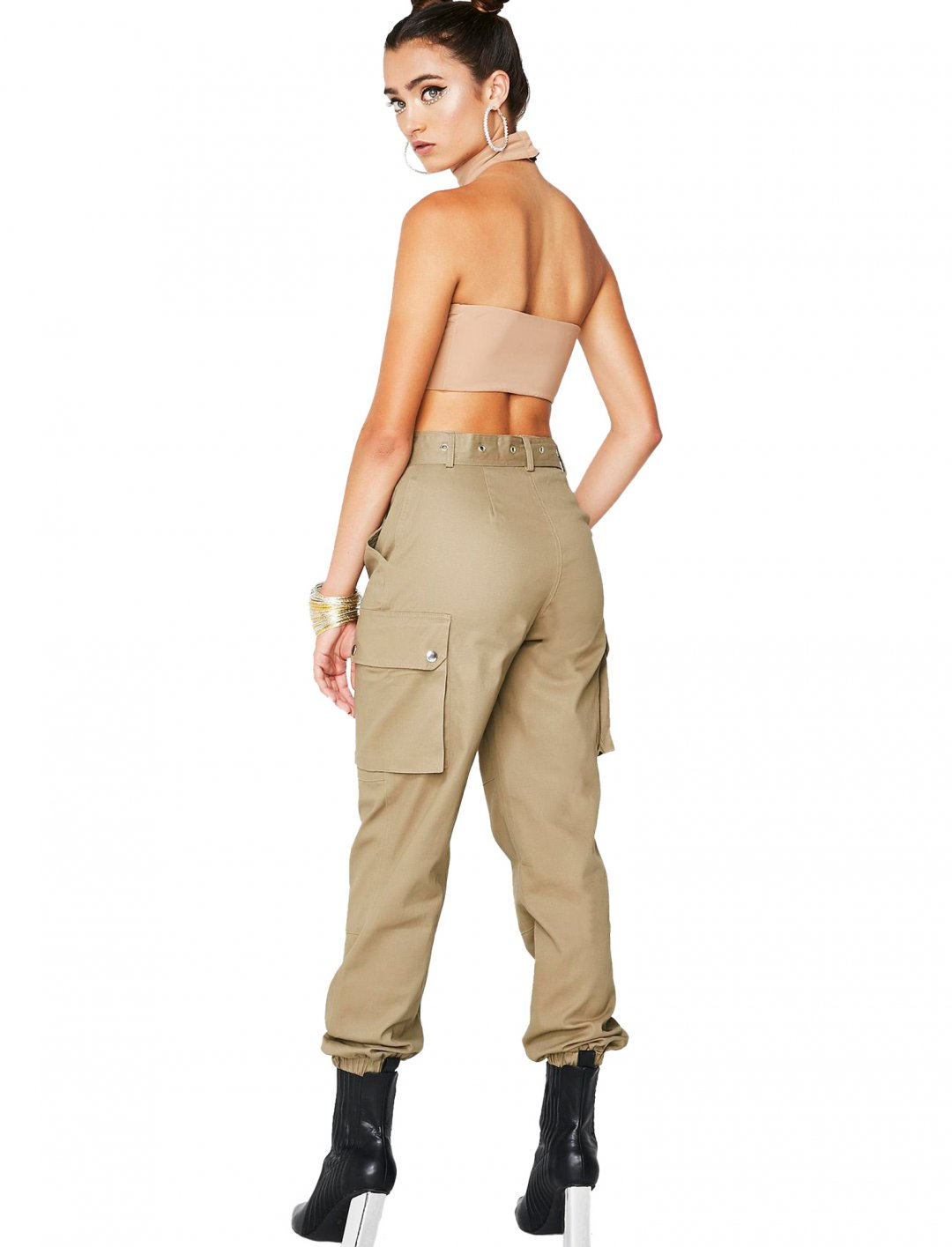 "Shroom Raider Cargo Trousers {""id"":5,""product_section_id"":1,""name"":""Clothing"",""order"":5} Dolls Kill"