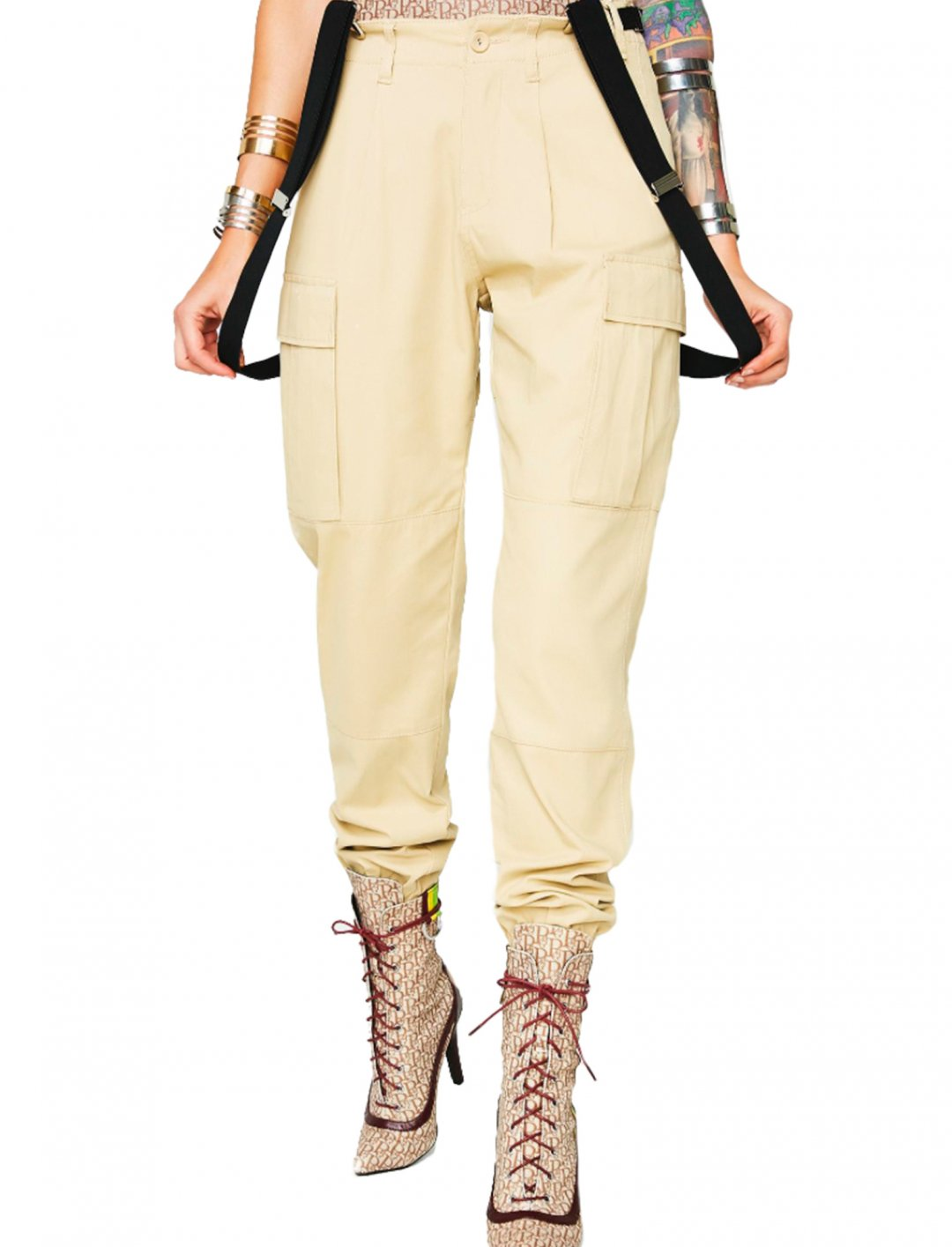 "Suspender Cargo Pants {""id"":6,""product_section_id"":1,""name"":""Electronics & Computers"",""order"":6} Poster Grl"