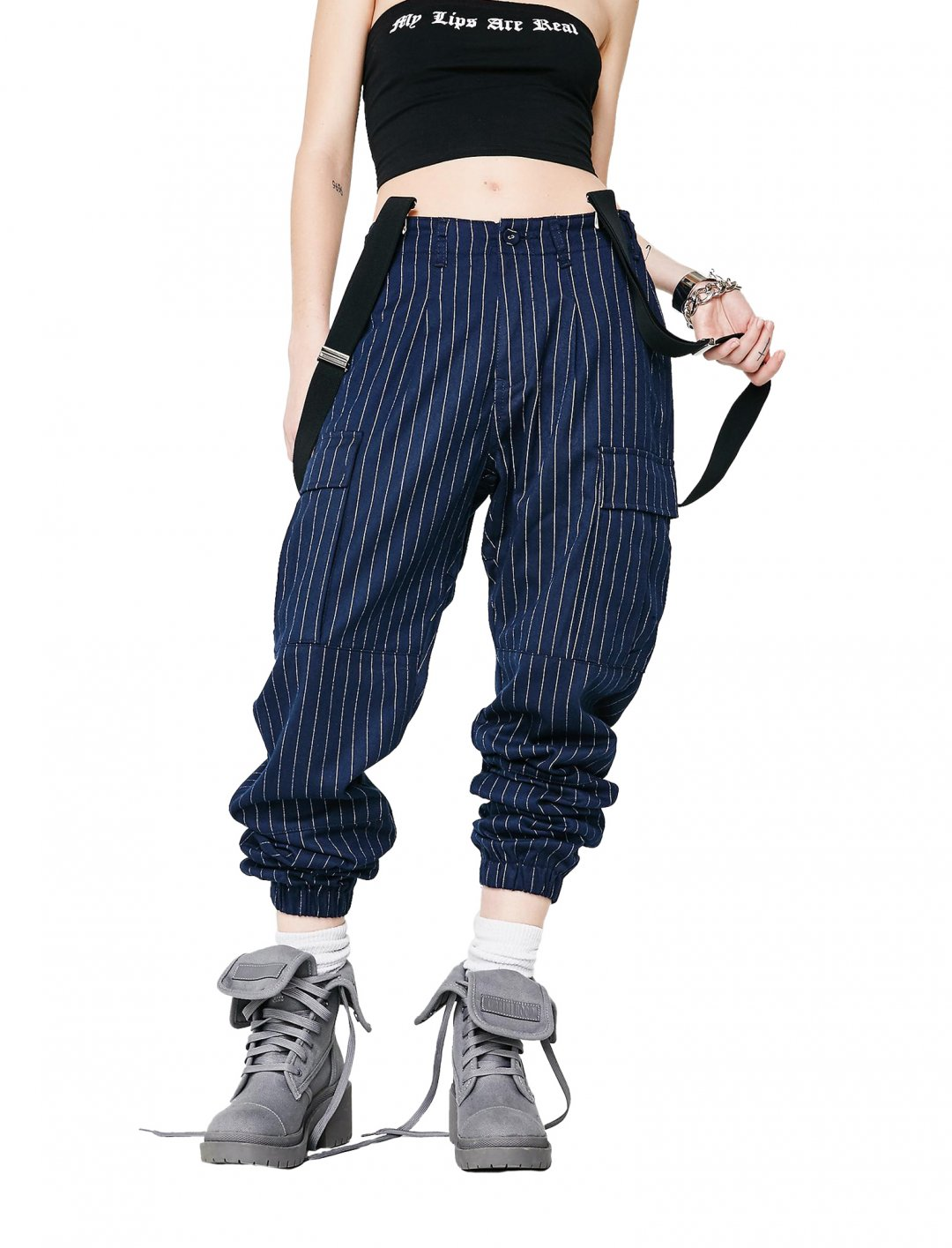 "Suspender Cargo Pants {""id"":5,""product_section_id"":1,""name"":""Clothing"",""order"":5} Poster Grl"