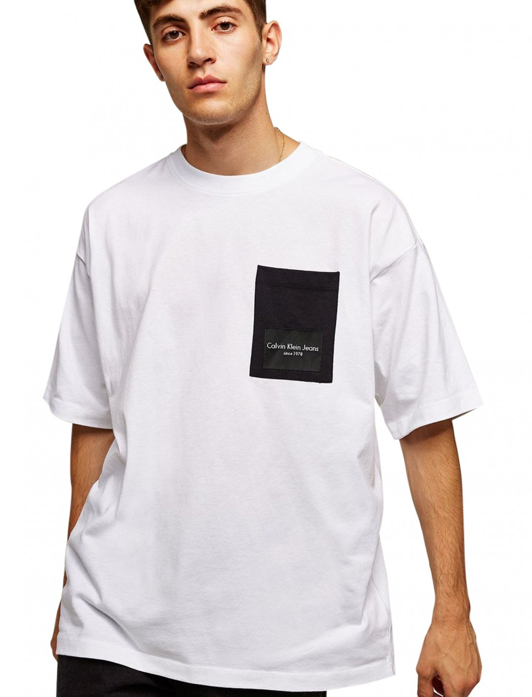 "White T-Shirt {""id"":5,""product_section_id"":1,""name"":""Clothing"",""order"":5} Calvin Klein"