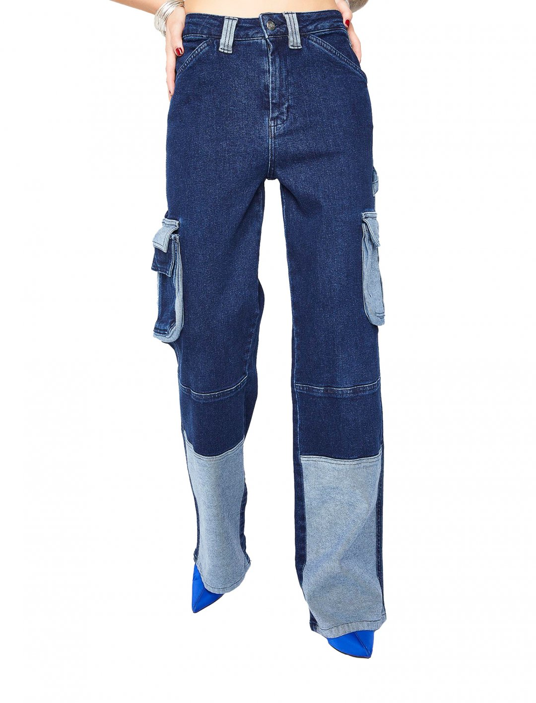 "Wide Leg Cargo Jeans {""id"":5,""product_section_id"":1,""name"":""Clothing"",""order"":5} Jaded London"