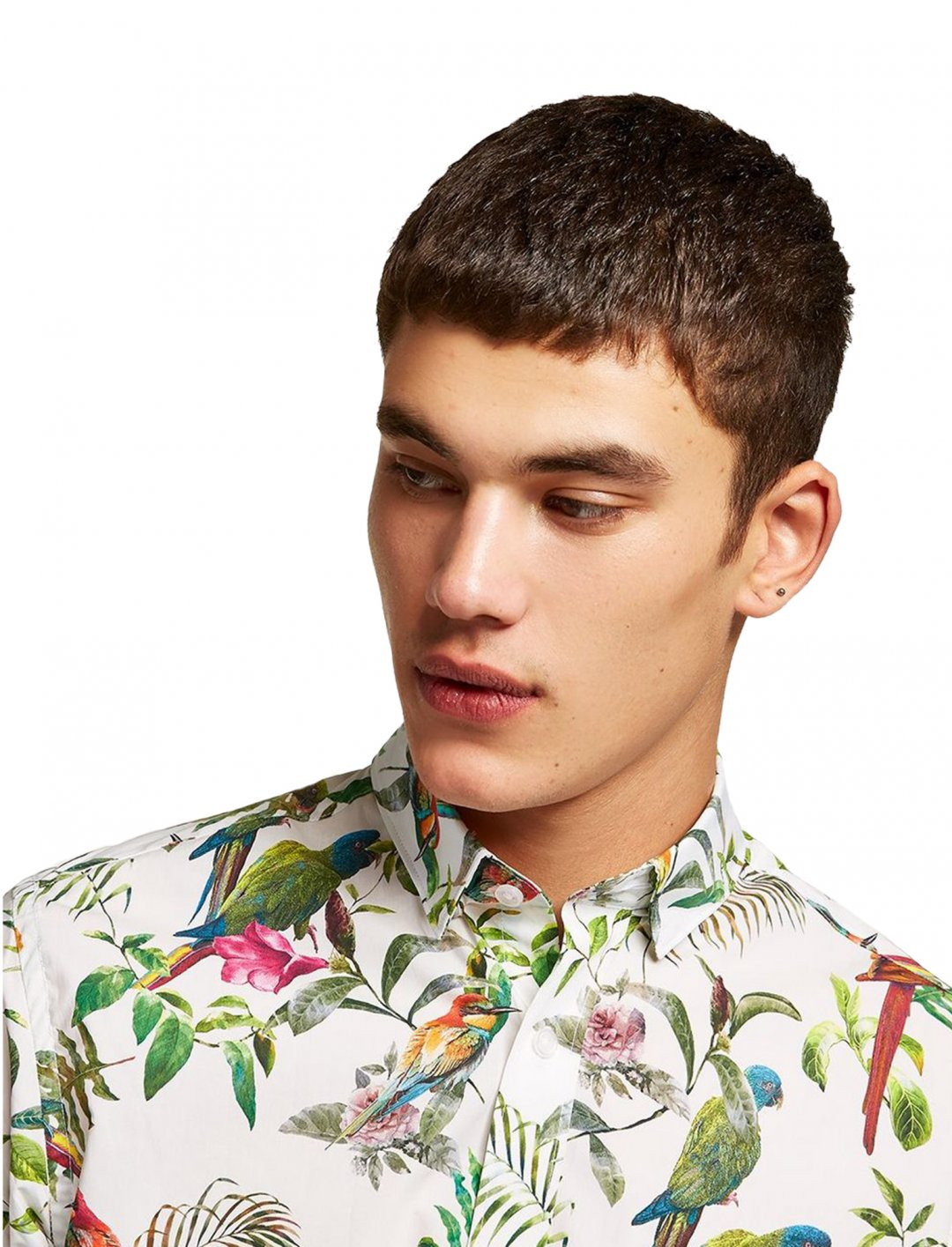 """Selected Homme Tropical Print Shirt {""""id"""":5,""""product_section_id"""":1,""""name"""":""""Clothing"""",""""order"""":5} Selected Homme"""