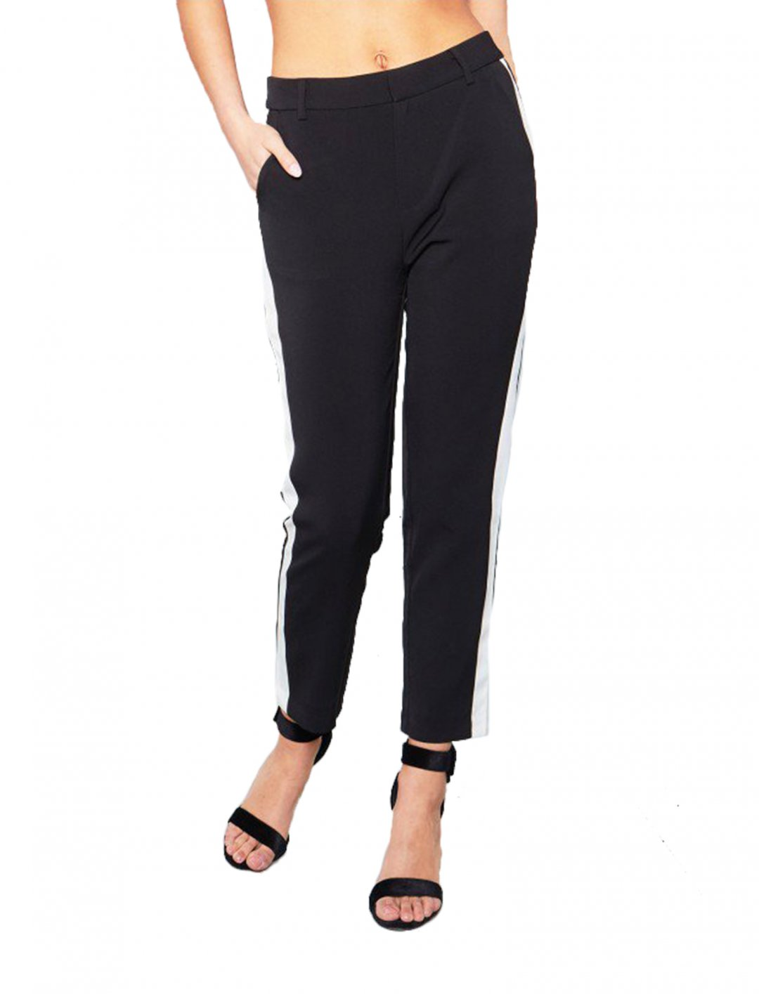 """Side Striped Trousers {""""id"""":5,""""product_section_id"""":1,""""name"""":""""Clothing"""",""""order"""":5} Missy Empire"""