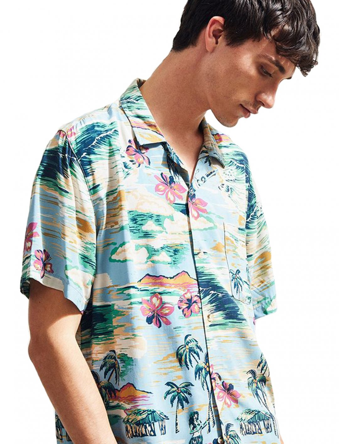 """UO Short Sleeve Shirt {""""id"""":5,""""product_section_id"""":1,""""name"""":""""Clothing"""",""""order"""":5} Urban Outfitters"""