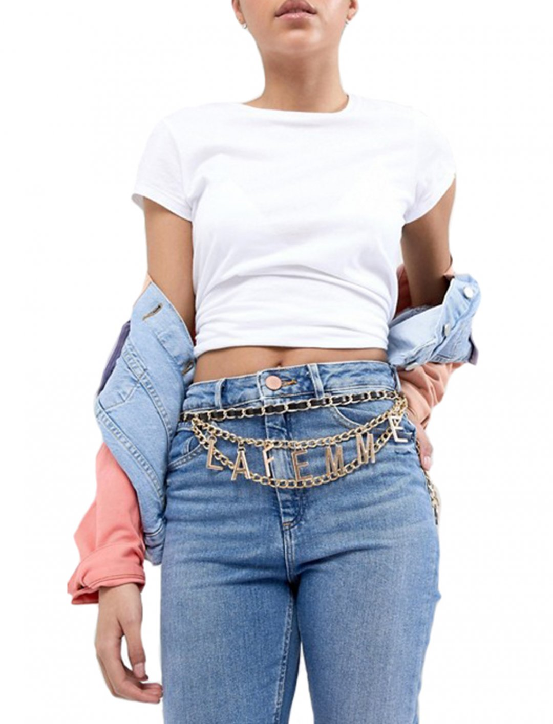 """Asos La Femme Chain Belt {""""id"""":16,""""product_section_id"""":1,""""name"""":""""Accessories"""",""""order"""":15} Asos"""