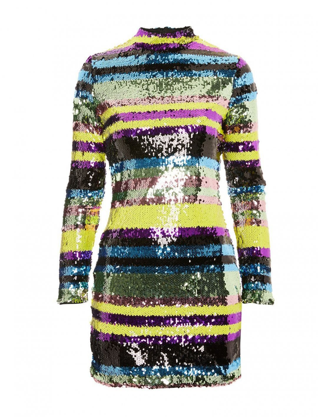 "Club L Sequin Striped Dress {""id"":5,""product_section_id"":1,""name"":""Clothing"",""order"":5} Club L"