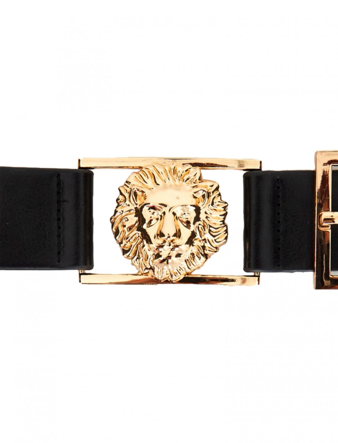 "Lion Buckle Detail Belt {""id"":16,""product_section_id"":1,""name"":""Accessories"",""order"":15} Pretty Little Thing"