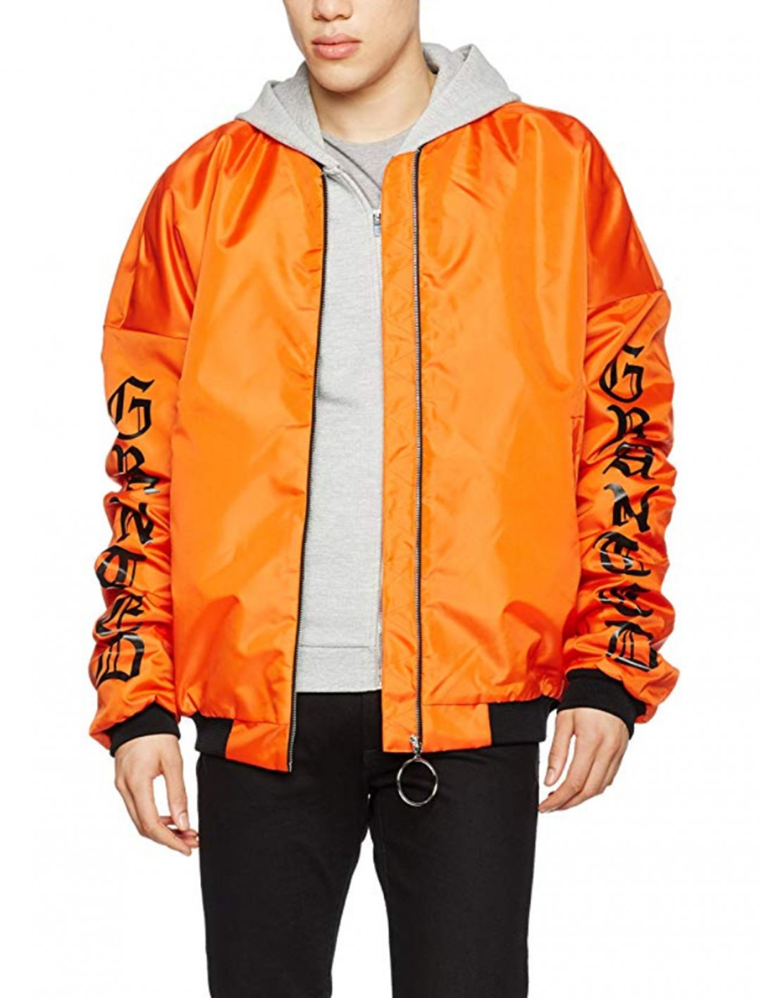 "Granted Oversized Bomber Jacket {""id"":5,""product_section_id"":1,""name"":""Clothing"",""order"":5} Granted"