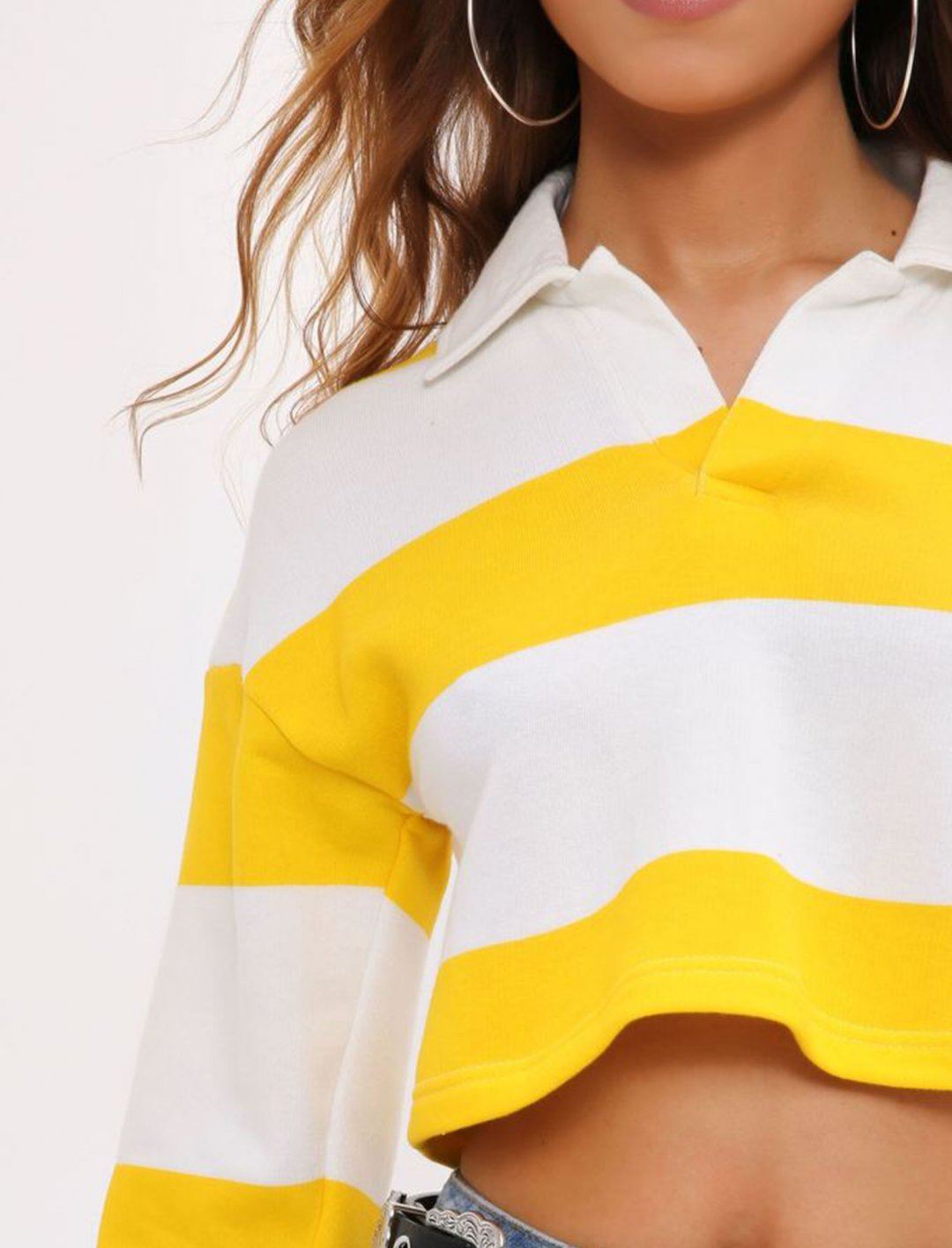 "I Saw It First Stripe Top {""id"":5,""product_section_id"":1,""name"":""Clothing"",""order"":5} I Saw It First"