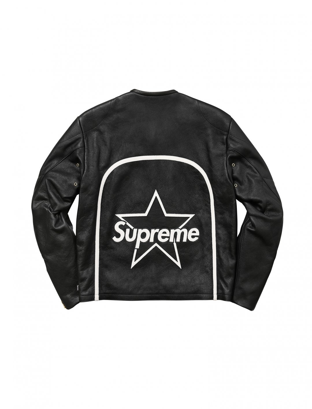 """Khalid's Leather Star Jacket {""""id"""":5,""""product_section_id"""":1,""""name"""":""""Clothing"""",""""order"""":5} Supreme&Vanson"""