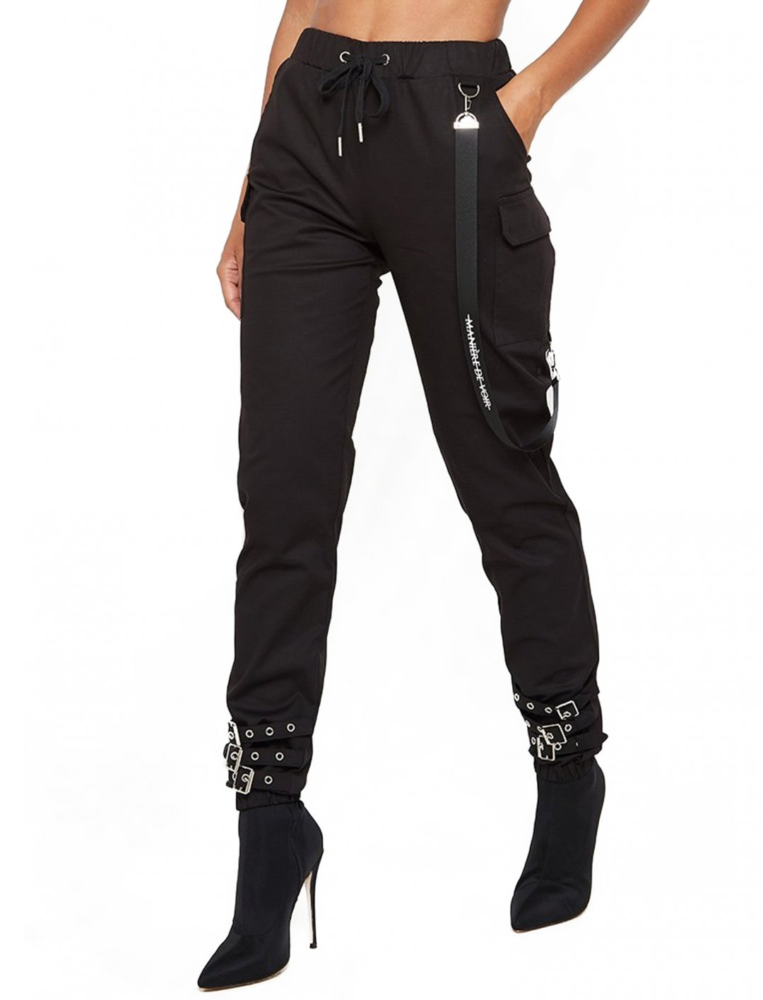 "MDV Suspender Detail Joggers {""id"":5,""product_section_id"":1,""name"":""Clothing"",""order"":5} Maniere De Voir"