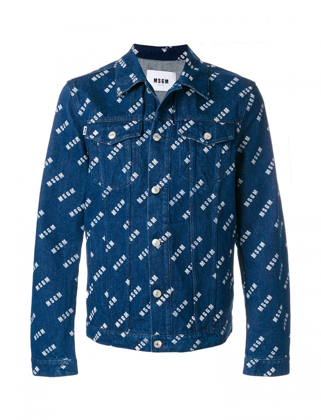 "MSGM Denim Jacket {""id"":5,""product_section_id"":1,""name"":""Clothing"",""order"":5} MSGM"