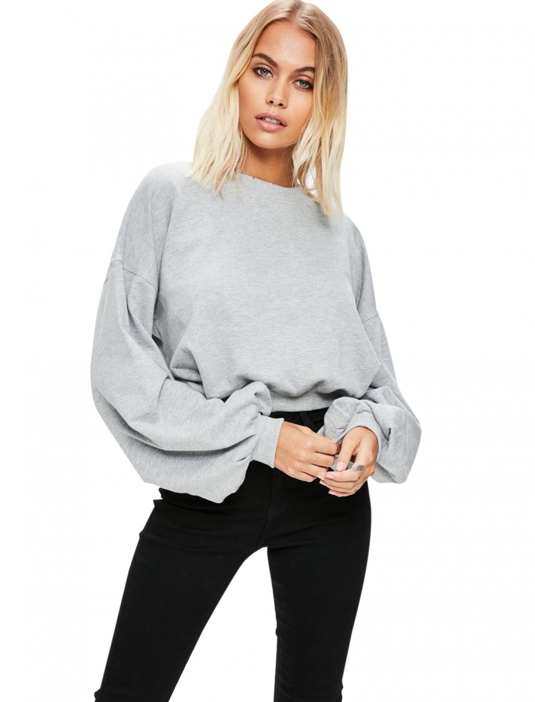 "Missguided Cropped Sweatshirt {""id"":5,""product_section_id"":1,""name"":""Clothing"",""order"":5} Missguided"