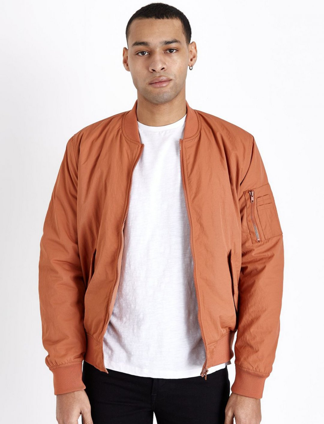 "New Look Bomber Jacket {""id"":5,""product_section_id"":1,""name"":""Clothing"",""order"":5} New Look"