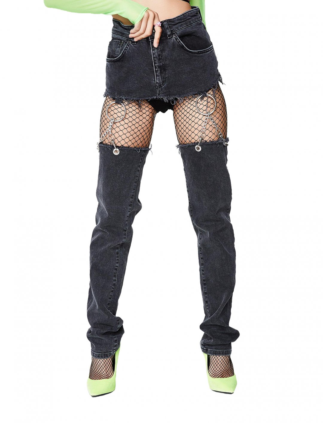 "The Ragged Priest Chap Jeans {""id"":5,""product_section_id"":1,""name"":""Clothing"",""order"":5} The Ragged Priest"