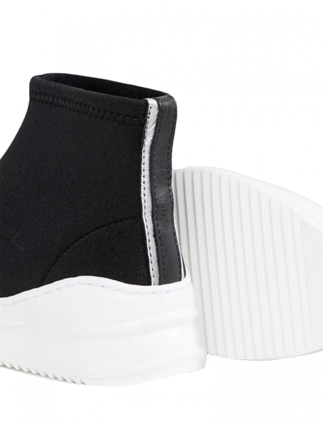 """Black Sock Trainers {""""id"""":12,""""product_section_id"""":1,""""name"""":""""Shoes"""",""""order"""":12} Bronx"""